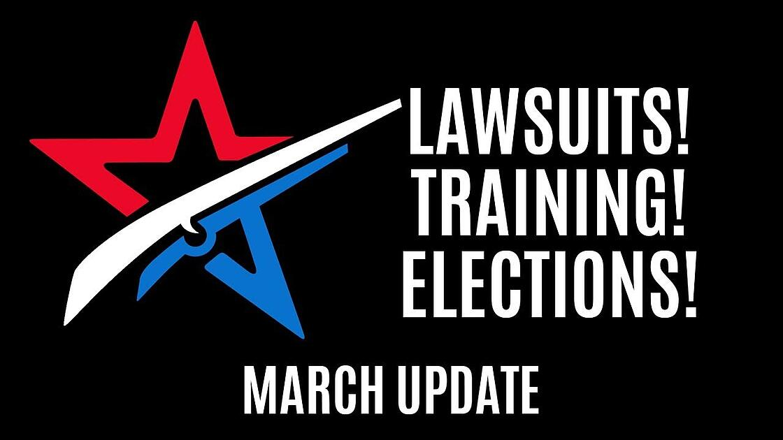 March activist update