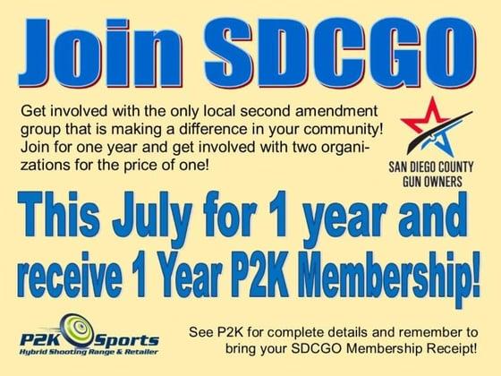 P2K Membership Offer