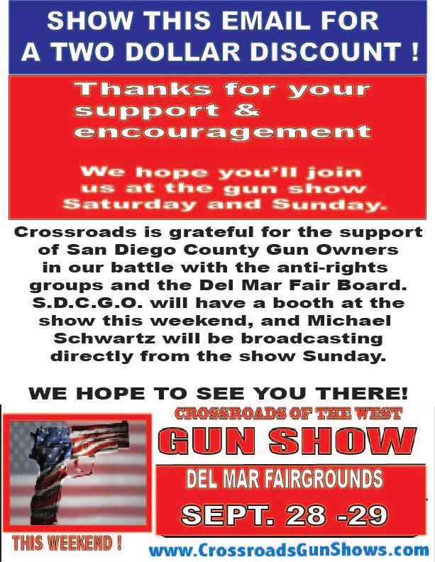 SDCGO Gun Show